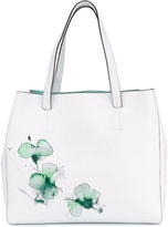 Fratelli Rossetti watercolour floral shoulder bag - women - Leather - One Size