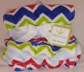 Kimberly Grant Bright Chevron Baby Blanket