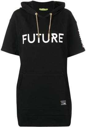 Versace Hooded Short Sleeve Long Jumper