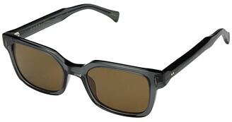 Raen Friar 53 (Slate/Vibrant Brown Polarized) Fashion Sunglasses