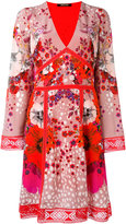 Roberto Cavalli floral print dress - women - Silk - 40
