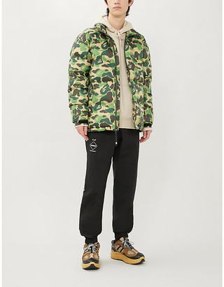 A Bathing Ape Camouflage-print shell-down jacket