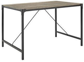 Laurèl Madeline Dining Table Foundry Modern Farmhouse Top Color: Driftwood