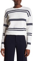 Derek Lam Long Sleeve Combo Knot Sweater
