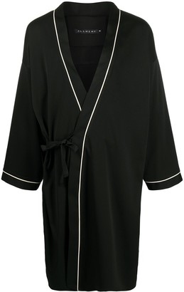 Alchemy Long-Sleeve Tie Robe