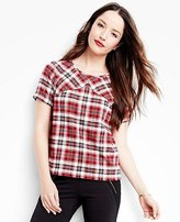 Women's Up North Tee In Supersoft Flannel