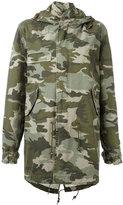 Mr & Mrs Italy - camouflage print parka - women - Cotton - XS
