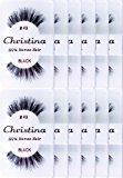Christina 12 Pack False Eye Lashes Style 43