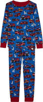 Hatley Fire trucks cotton pyjamas 4-12 years