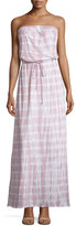 Joie Cahya Tie-Dye Strapless Maxi Dress