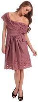 Vivienne Westwood Slashed Amaryllis Dress (Blush LA) - Apparel