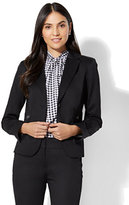 New York & Co. 7th Avenue Jacket - Two-Button - Modern - Black