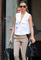 Signature Sleeveless Blouse - as seen on Miranda Kerr - by Equipment