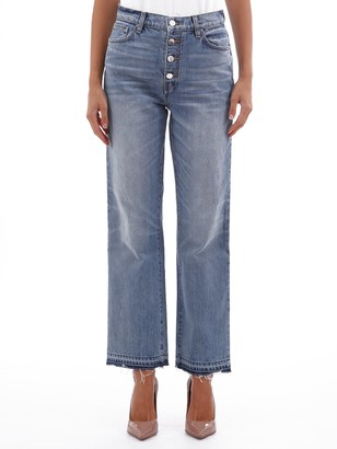 Amiri Button-Up Straight Jeans