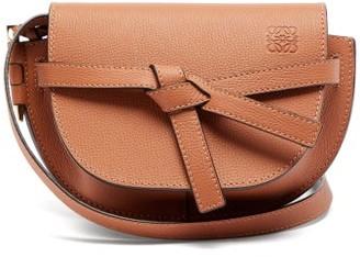 Loewe Gate Mini Leather Cross-body Bag - Tan