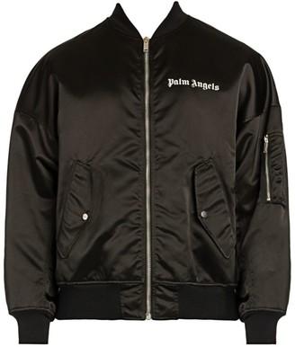 Palm Angels Logo Bomber Jacket