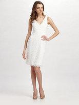 Josie Natori Dragon Lace Dress