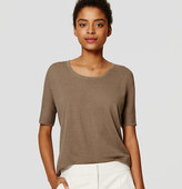 LOFT Relaxed Short Sleeve Top