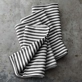 Williams Sonoma Open Kitchen Twill Striped Lapkins, Set of 4