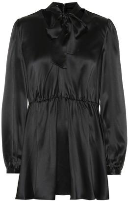 Co Silk satin blouse