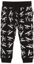 Boy London Black and White Repeat Logo Sweatpants