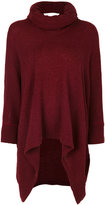 Y's oversized draped jumper - women - Acrylic/Nylon/Rayon/Wool - 2