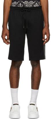 Dolce & Gabbana Black Cavallerry Bermuda Shorts