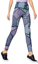 Hue Geometric Animal Active Shaping Skimmer Leggings