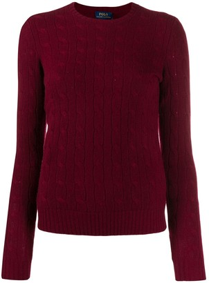 Polo Ralph Lauren Cable-Knit Fitted Sweater
