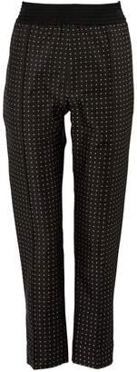 Haider Ackermann High-Waisted Silk Pants