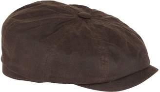 Stetson Hatteras Waxed Cotton Flat Cap