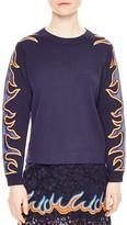 Sandro Foma Embellished Sweatshirt