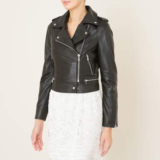 Oakwood Yoko Leather Biker Jacket