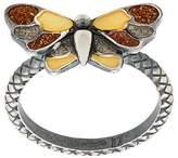 Bottega Veneta butterfly enamelled ring