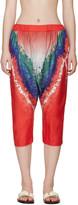 Baja East Muticolor Tie-dye Trousers