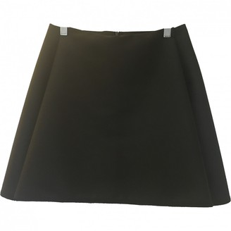 Dion Lee Black Wool Skirt for Women