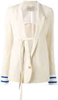 Erika Cavallini - Hunter blazer - women - Cotton/Polyester/Acetate/Virgin Wool - 38