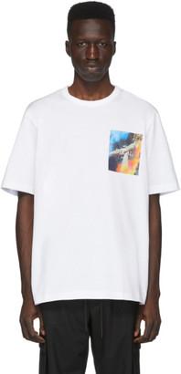 Juun.J White Decal T-Shirt