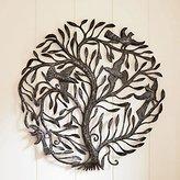"Viva Terra Recycled Metal Tree of Life Wall Art (Large - 35"" Diameter)"