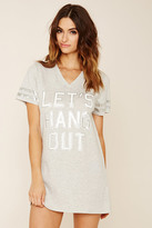 Forever 21 FOREVER 21+ Lets Hang Out Nightdress