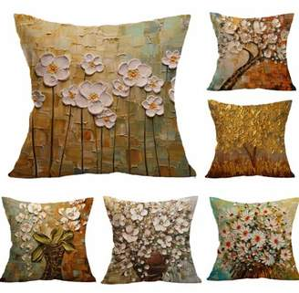 Bestller 18''x18'' Flower Decorative Throw Pillow Covers Clearance