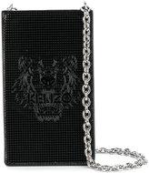 Kenzo Tiger phone shoulder bag - women - Calf Leather/Polyurethane - One Size