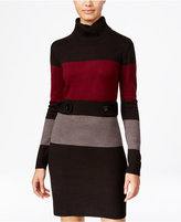 Amy Byer Juniors' Colorblocked Sweater Dress