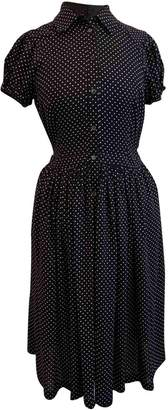 Michael Kors Navy Silk Dresses