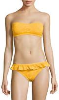 Kate Spade New York Eyelet Bandeau Bikini Top