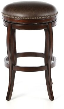 "American Heritage Wilmington Bar & Counter Swivel Stool Seat Height: Bar Stool (30"" Seat Height)"