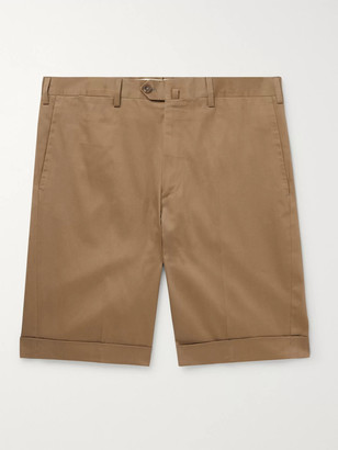 De Petrillo Slim-Fit Cotton-Blend Shorts