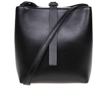 Proenza Schouler Nappa Frame Shoulder Bag Color Black