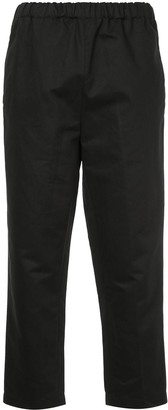 Marni Cropped Loose Fit Trousers