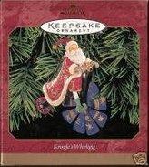 Hallmark 1 X 1999 Kringle's Whirligig Christmas Ornament